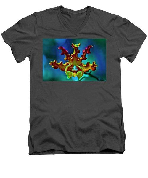Orchid Men's V-Neck T-Shirt