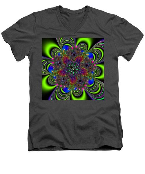 Orditively Men's V-Neck T-Shirt