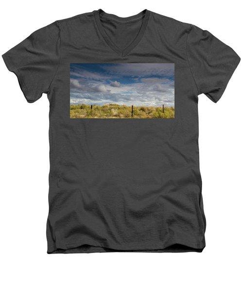 Oregon Clouds Men's V-Neck T-Shirt