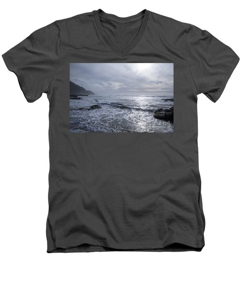 Oregon Coast Men's V-Neck T-Shirt
