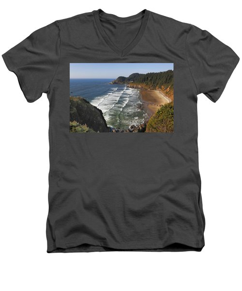 Oregon Coast No 1 Men's V-Neck T-Shirt