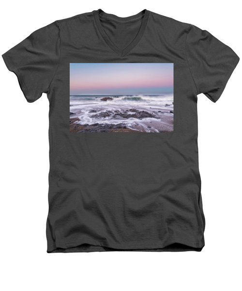 Oregon Sunrise Men's V-Neck T-Shirt