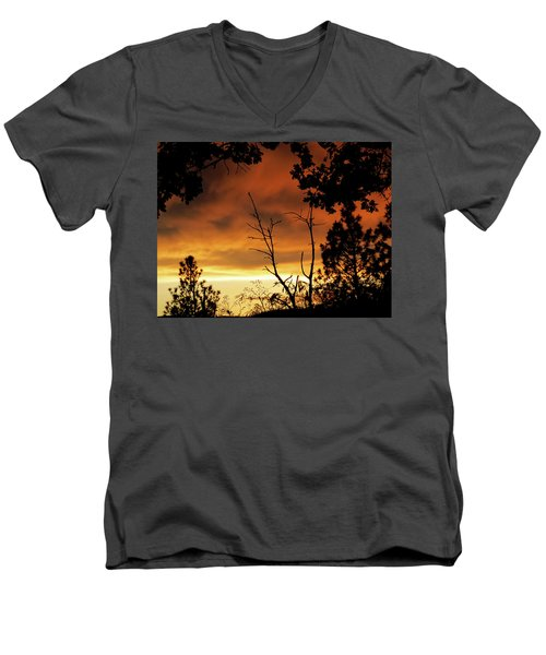 Oregon Sunset Men's V-Neck T-Shirt