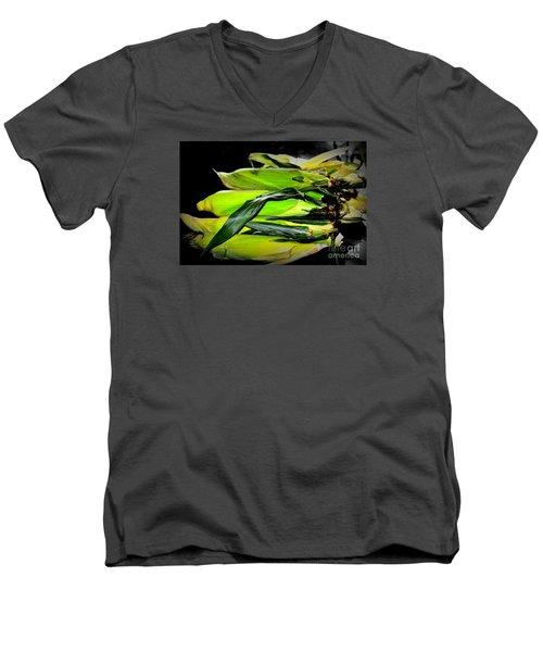Organic Corn 2 Men's V-Neck T-Shirt