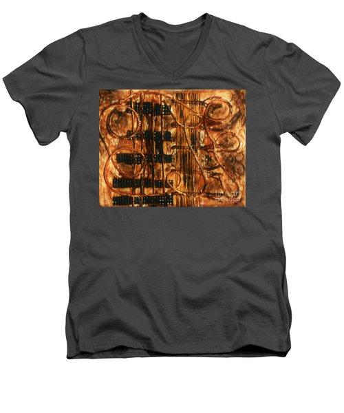 Organic - Landscape  Men's V-Neck T-Shirt