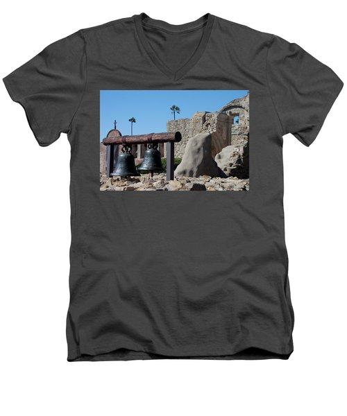 Original Bell Tower Men's V-Neck T-Shirt