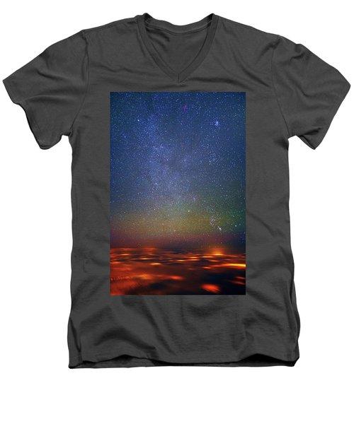 Orion Rising Men's V-Neck T-Shirt
