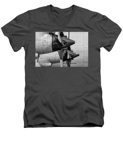 Orion's Thrust - 2017 Christopher Buff, Www.aviationbuff.com Men's V-Neck T-Shirt