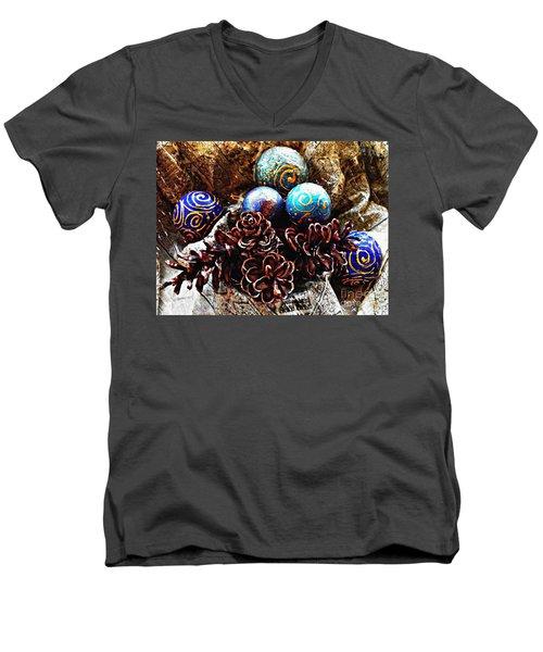 Ornaments 6 Men's V-Neck T-Shirt