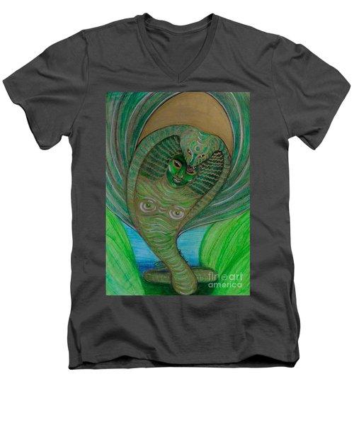 Wadjet Osain Men's V-Neck T-Shirt