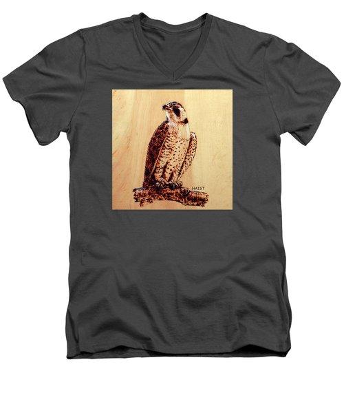 Osprey 2 Pillow/bag Men's V-Neck T-Shirt by Ron Haist