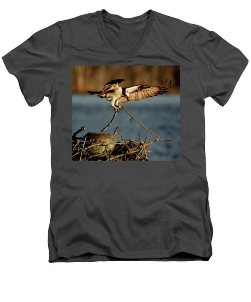 Osprey 2017-3 Men's V-Neck T-Shirt