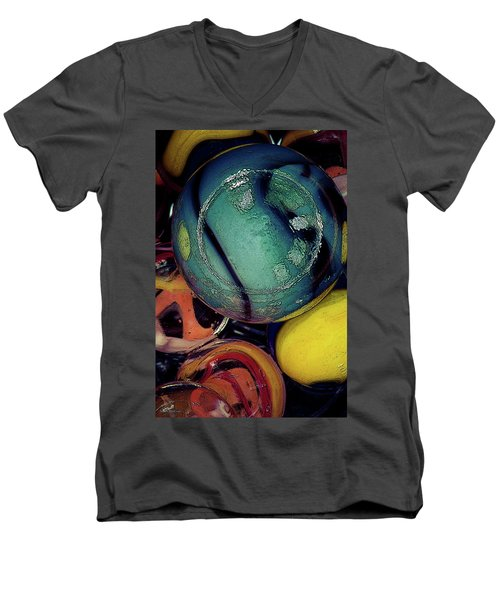 Other Worlds I Men's V-Neck T-Shirt by Shelly Stallings