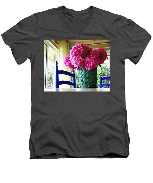 Otisco Morning Men's V-Neck T-Shirt