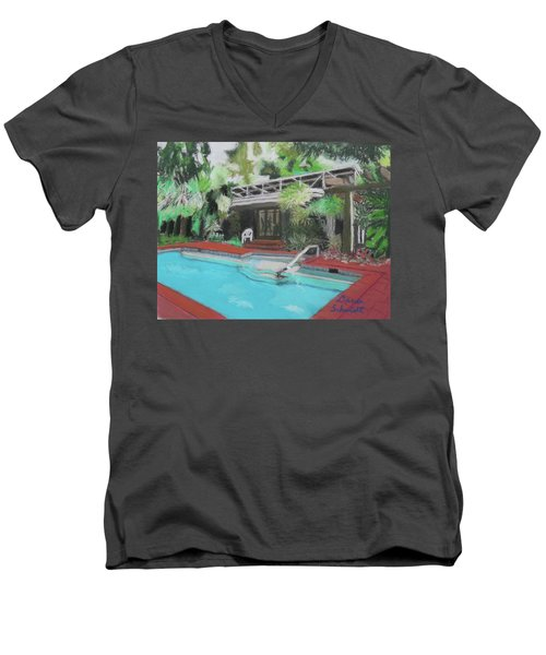 Our Back Yard In Orlando Men's V-Neck T-Shirt