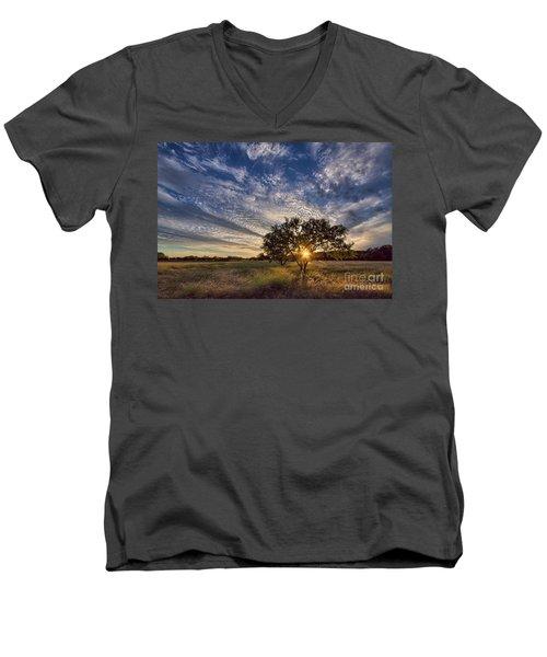 Our Backyard Men's V-Neck T-Shirt