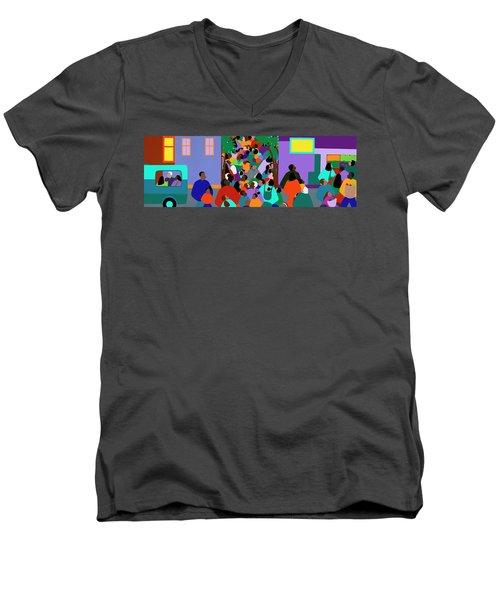 Our Community Men's V-Neck T-Shirt