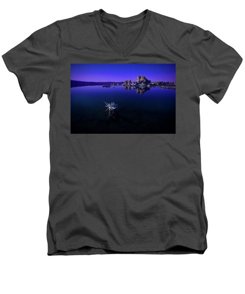 Our Desolate Earth Men's V-Neck T-Shirt
