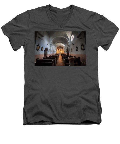 Our Lady Of Loreto Men's V-Neck T-Shirt