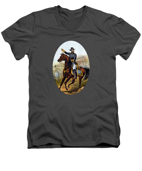 Our Old Commander - General Grant Men's V-Neck T-Shirt