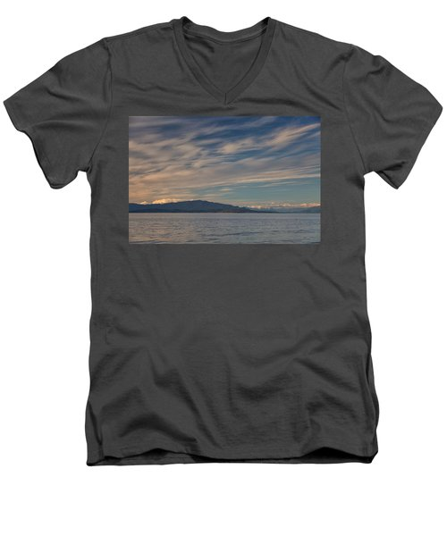 Out Like A Lamb Men's V-Neck T-Shirt by Randy Hall