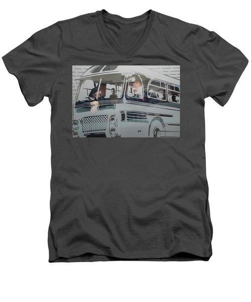 Out Of Service Men's V-Neck T-Shirt
