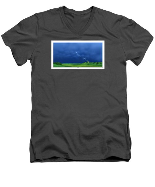 Out Of The Blue Men's V-Neck T-Shirt