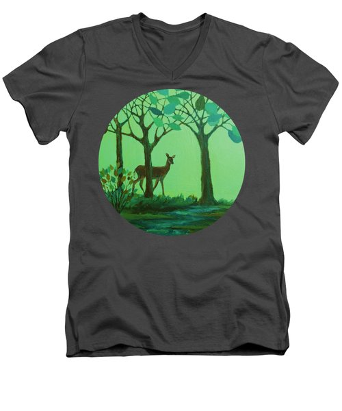 Out Of The Forest Men's V-Neck T-Shirt