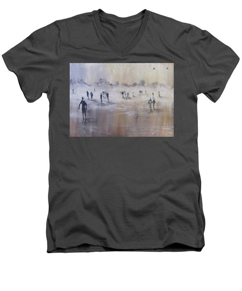 Out Of The Mist Men's V-Neck T-Shirt