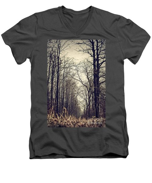 Out Of The Soil - Into The Forest Men's V-Neck T-Shirt