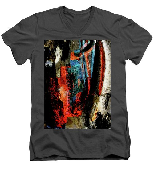 Out Of The Wreckage Men's V-Neck T-Shirt by Stephanie Grant