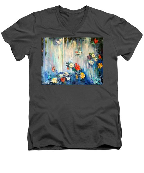 Out Of Time Men's V-Neck T-Shirt