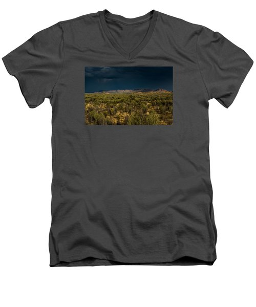 Outback Storm Men's V-Neck T-Shirt by Racheal Christian