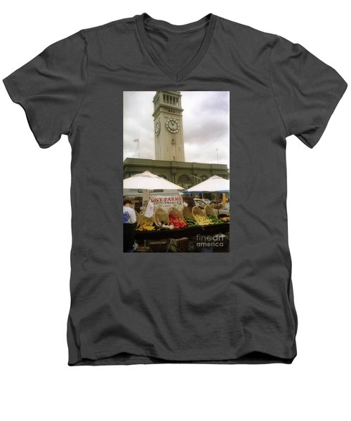 Outdoor Farmers Market Men's V-Neck T-Shirt