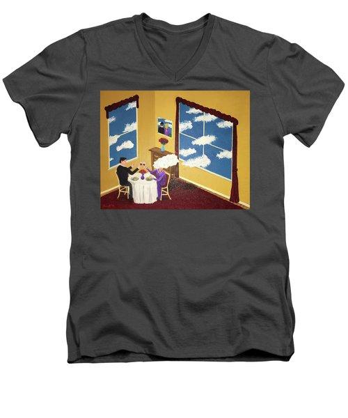 Outside In Men's V-Neck T-Shirt