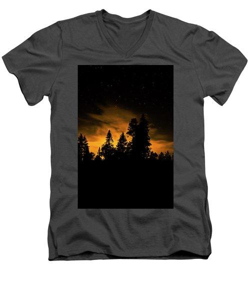 Outside Of Town Men's V-Neck T-Shirt