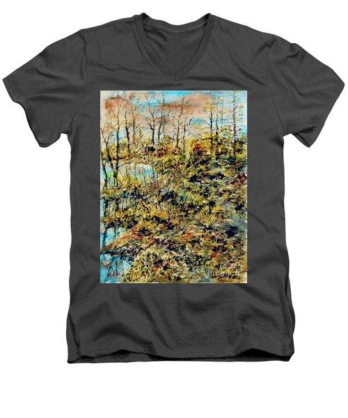 Outside Trodden Paths Men's V-Neck T-Shirt