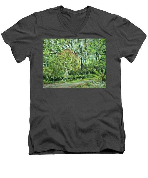 Oven Park Sunday Morning Men's V-Neck T-Shirt