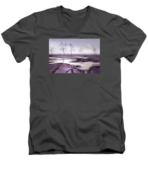 Over And Over Again Men's V-Neck T-Shirt by Diana Angstadt