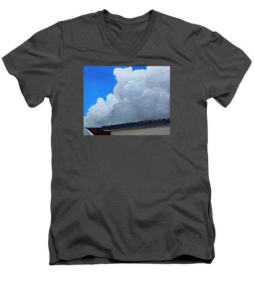 Over My House Men's V-Neck T-Shirt