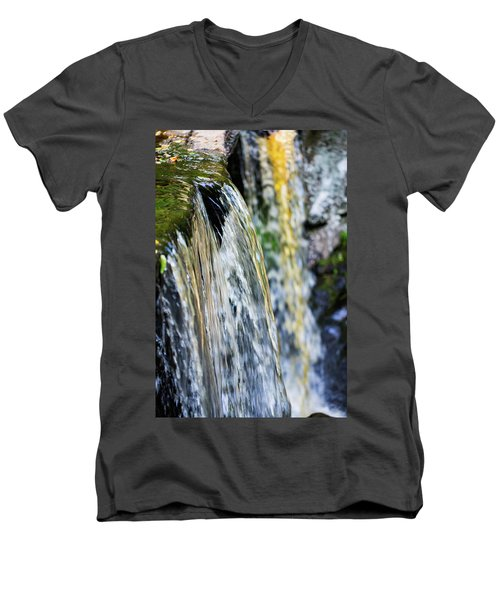 Over The Edge Visions Of Gold Men's V-Neck T-Shirt