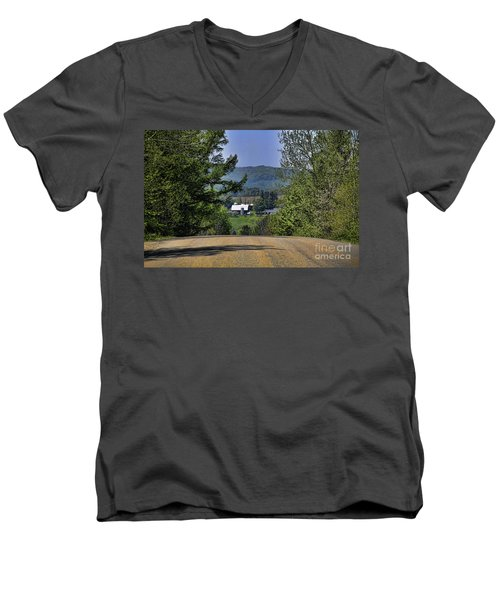 Over The Hill Men's V-Neck T-Shirt