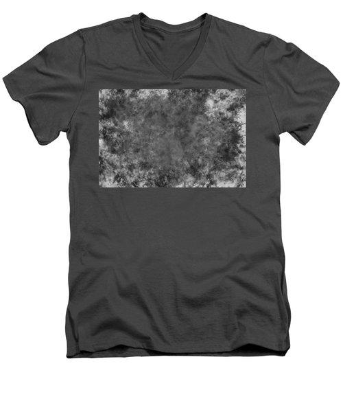 Overlay Grunge Texture. Men's V-Neck T-Shirt