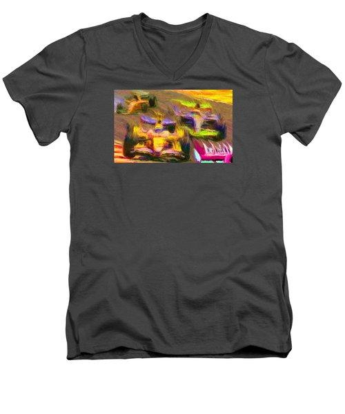 Overtaking Men's V-Neck T-Shirt