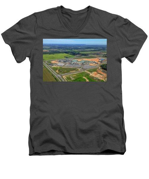 Owa 7674 Men's V-Neck T-Shirt
