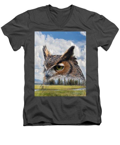 Owl's Rest Men's V-Neck T-Shirt