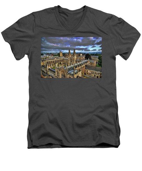 Oxford University - All Souls College Men's V-Neck T-Shirt