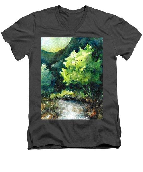 Ozarks Anywhere Usa A Study Men's V-Neck T-Shirt