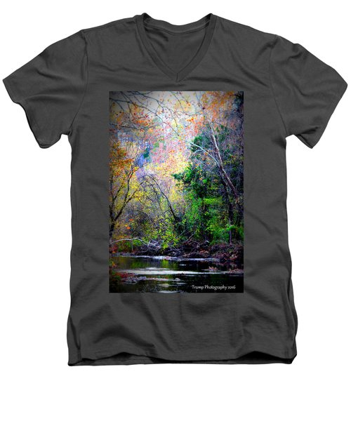 Ozarks Fall Men's V-Neck T-Shirt