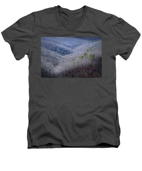 Ozarks Trees #4 Men's V-Neck T-Shirt